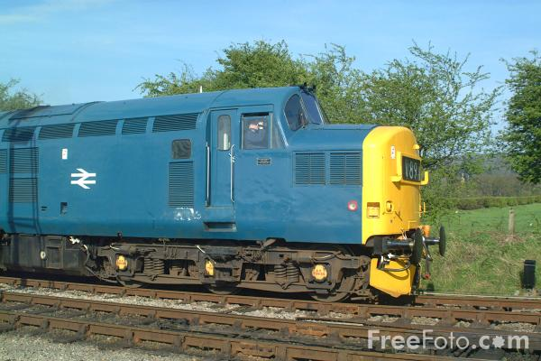 Picture of Class 37/0 37215, Toddington, Gloucestershire Warwickshire Railway - Free Pictures - FreeFoto.com