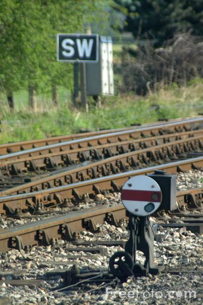 Picture of Ground Signal, Toddington, Gloucestershire Warwickshire Railway - Free Pictures - FreeFoto.com