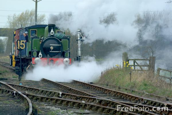 Picture of Hudswell Clarke 0-6-0T No 65, Derwent Valley Light Railway, Murton, York - Free Pictures - FreeFoto.com