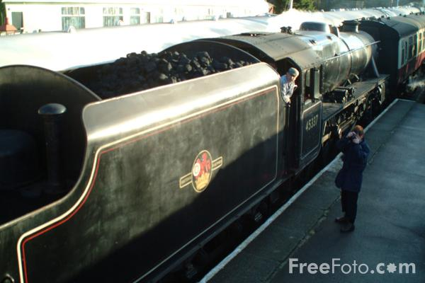 Picture of Black Five 4-6-0 45337 at Goathland - Free Pictures - FreeFoto.com