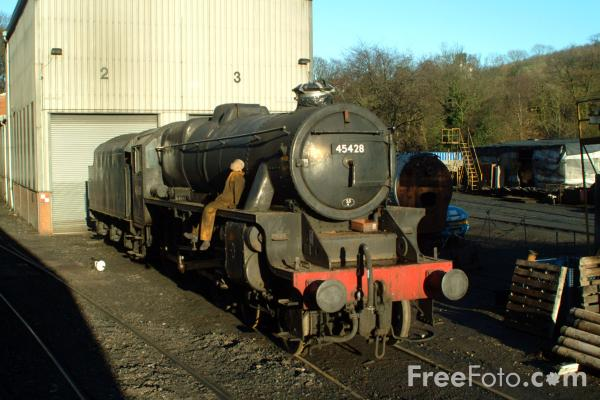 Picture of 45428 Eric Treacy at Grosmont Shed - Free Pictures - FreeFoto.com