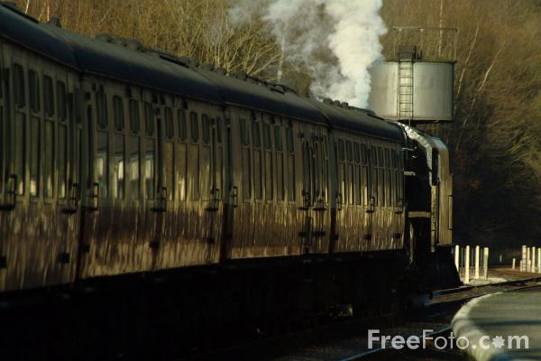 Picture of Black Five 4-6-0 45337 at Grosmont - Free Pictures - FreeFoto.com