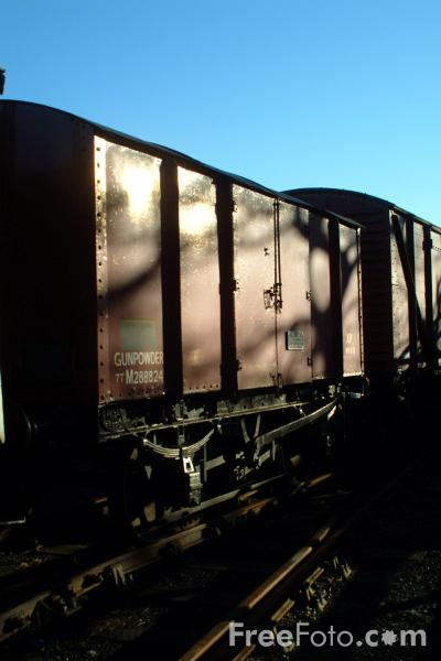 Picture of Goods Wagon - Free Pictures - FreeFoto.com