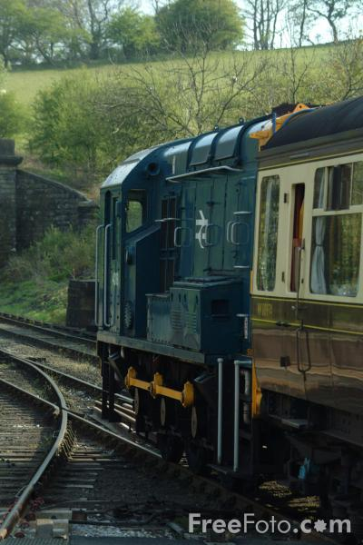 Picture of Class 08 shunter 4018 at Grosmont - Free Pictures - FreeFoto.com