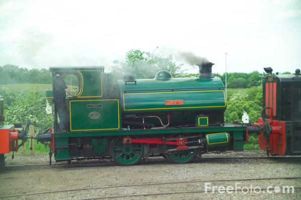 Picture of R & W Hawthorne 0-4-0ST 2780 Asbestos - Free Pictures - FreeFoto.com