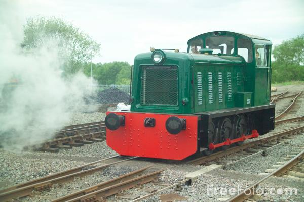 Picture of Bagnall 0-6-0 DM 3119 - Free Pictures - FreeFoto.com