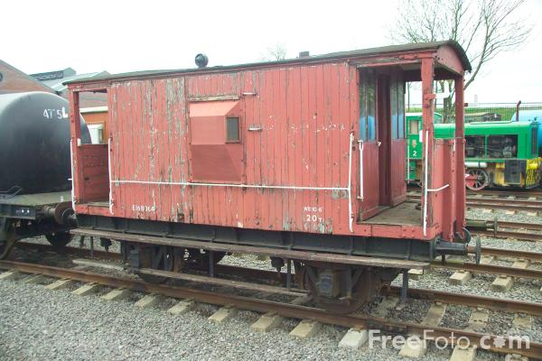Picture of Brake Van - Free Pictures - FreeFoto.com