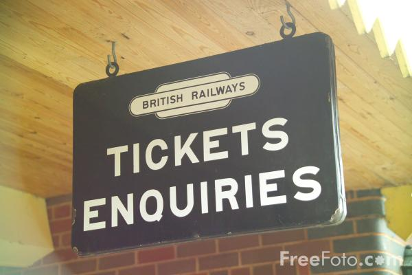Picture of Tickets Enquiries - Free Pictures - FreeFoto.com