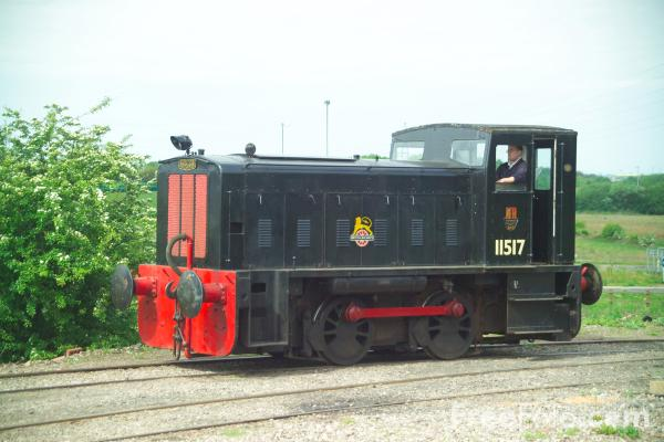 Picture of Ruston & Hornsby 0-4-0 DE 11517 - Free Pictures - FreeFoto.com