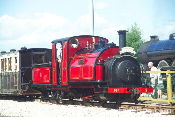 Picture of Ffestiniog Railway locomotive Prince - Free Pictures - FreeFoto.com