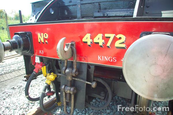 Picture of 4472 Flying Scotsman at RailFest 2004 - Free Pictures - FreeFoto.com