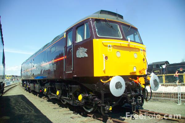 Picture of Class 47 7498 Prince William at RailFest 2004 - Free Pictures - FreeFoto.com