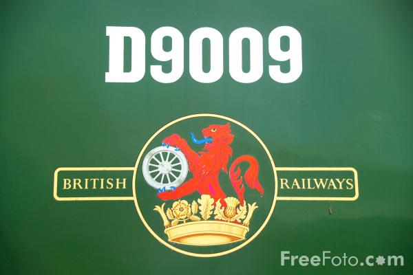 Picture of Class 55 D9009 Co-Co Deltic locomotive Alycidon at RailFest 2004 - Free Pictures - FreeFoto.com