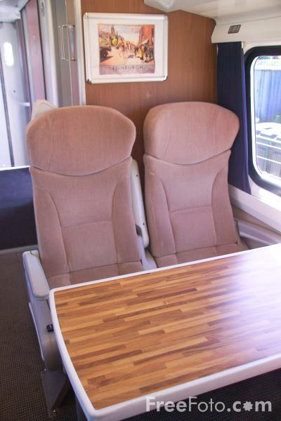 Picture of GNER mk4 First Class coach at RailFest 2004 - Free Pictures - FreeFoto.com