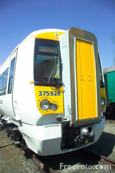 Picture of Class 375/9 Electrostar EMU 375926 at RailFest 2004 - Free Pictures - FreeFoto.com
