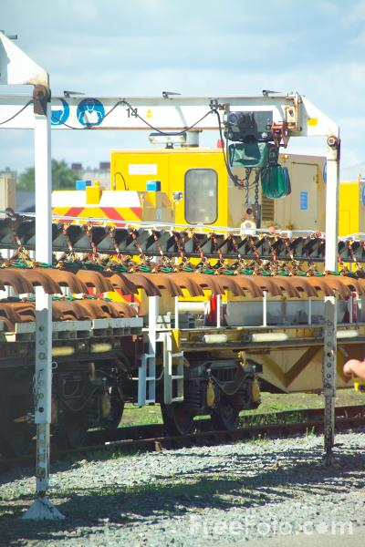 Picture of Jarvis track installation system at RailFest 2004 - Free Pictures - FreeFoto.com