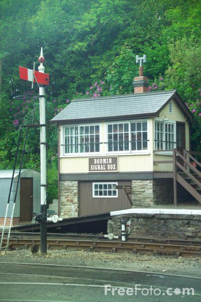 Picture of Bodmin & Wenford Railway - Free Pictures - FreeFoto.com