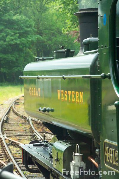 Picture of GWR Pannier Tank 0-6-0PT No 4612 - Free Pictures - FreeFoto.com