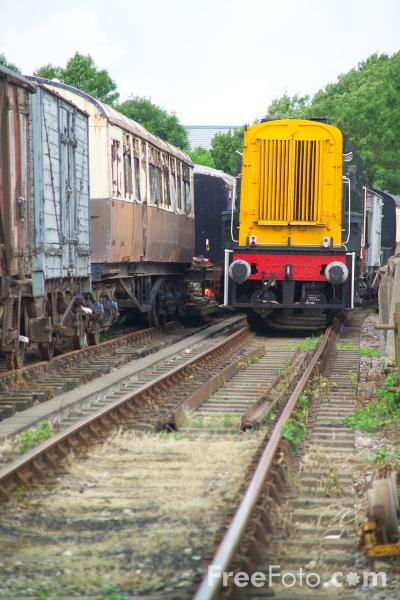 Picture of Cholsey & Wallingford Railway - Free Pictures - FreeFoto.com