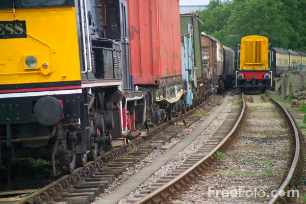 Picture of Class 08 0-6-0 shunter 13074 - Free Pictures - FreeFoto.com