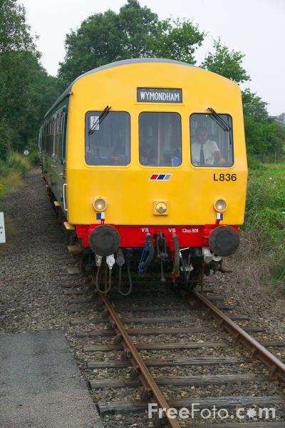 Picture of Class 101 DMU, Mid Norfolk Railway, Wymondham - Free Pictures - FreeFoto.com