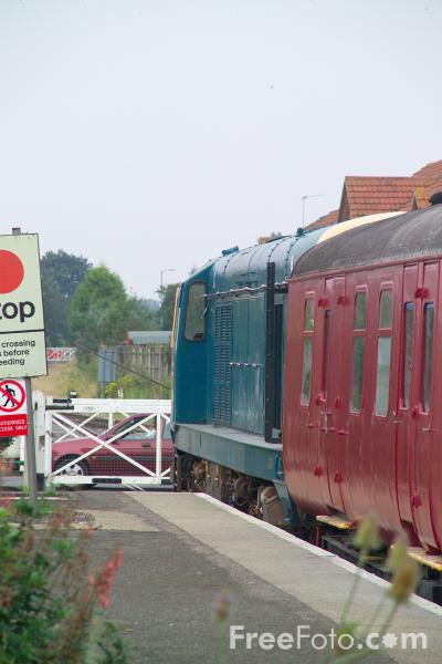 Picture of Class 20 D8069 Mid Norfolk Railway - Free Pictures - FreeFoto.com