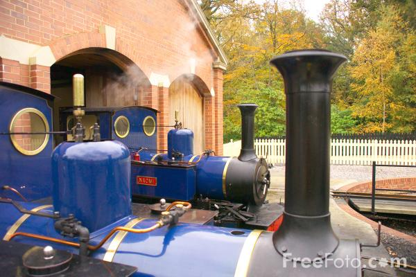 Picture of Exbury Gardens Steam Railway - Free Pictures - FreeFoto.com