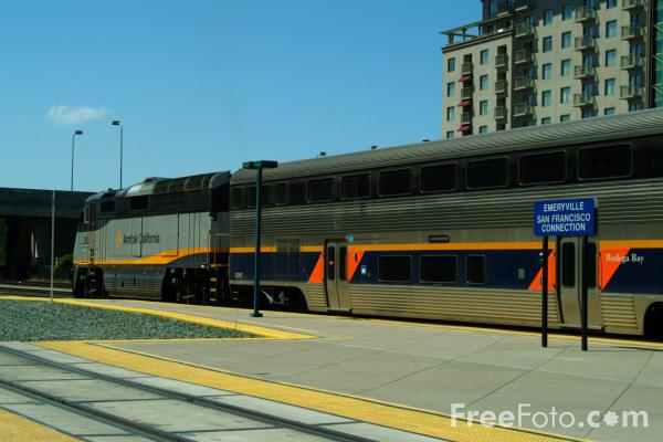 Picture of Capitol Route service at Emeryville, California - Free Pictures - FreeFoto.com