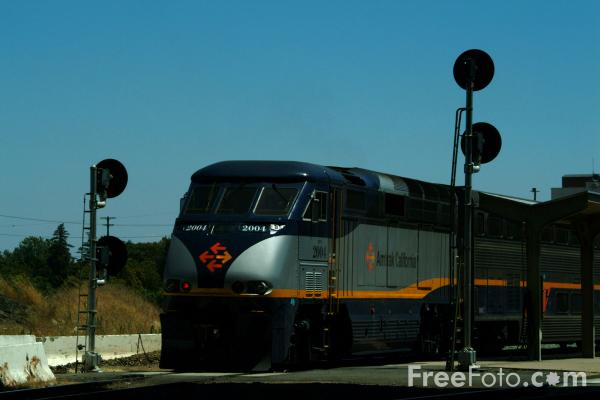 Picture of Capitol Route service at Sacramento, California - Free Pictures - FreeFoto.com