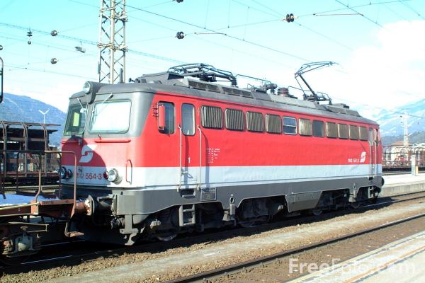 Picture of Austrian Railways Class 1142 554-3 - Free Pictures - FreeFoto.com