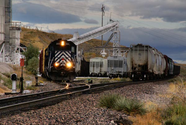 Picture of Montana Rail Link - Free Pictures - FreeFoto.com