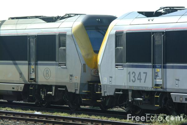 Picture of Train, Belgium State Railways - Free Pictures - FreeFoto.com