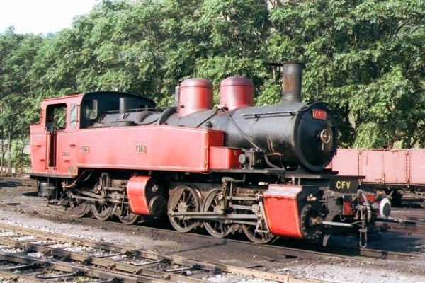 Picture of Mallett 030+030 Steam Locomotive Number 415 in Tournon Shed - Free Pictures - FreeFoto.com