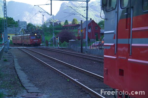 Picture of Norwegian State Railways  - NSB - Free Pictures - FreeFoto.com