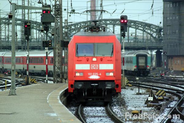 Picture of German Trains - Free Pictures - FreeFoto.com