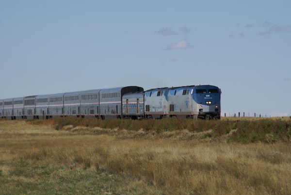 Picture of Amtrak Empire Builder in Montana, USA - Free Pictures - FreeFoto.com