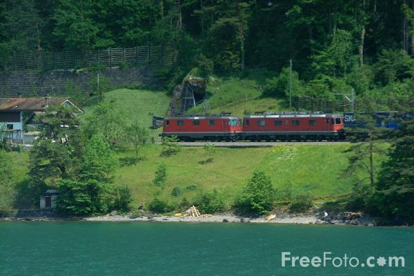 Picture of Freight Train, Switzerland - Free Pictures - FreeFoto.com