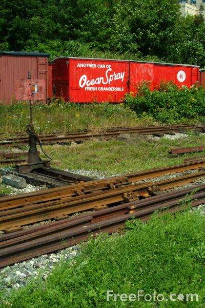 Picture of The Maine Narrow Gauge Railroad Co. & Museum, Portland, Maine - Free Pictures - FreeFoto.com