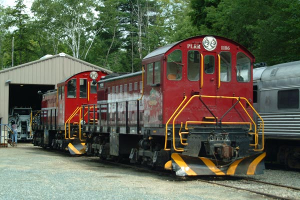 Picture of S-1 Alco 1186, Hobo Railroad, Lincoln, New Hampshire - Free Pictures - FreeFoto.com