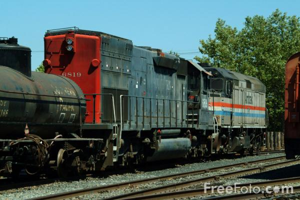 California State Railroad Museum pictures, free use image ...