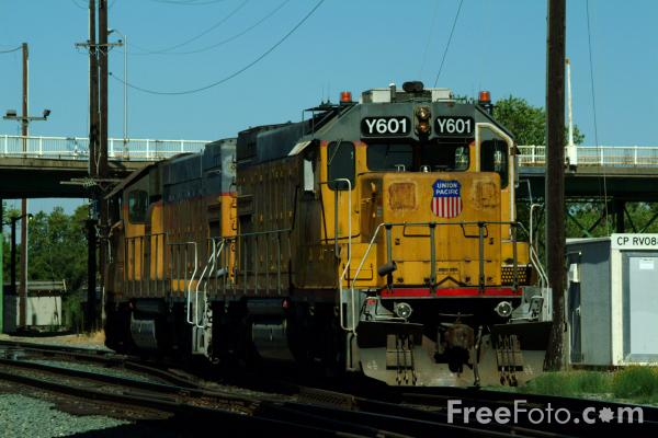 Picture of USA Railroad - Free Pictures - FreeFoto.com