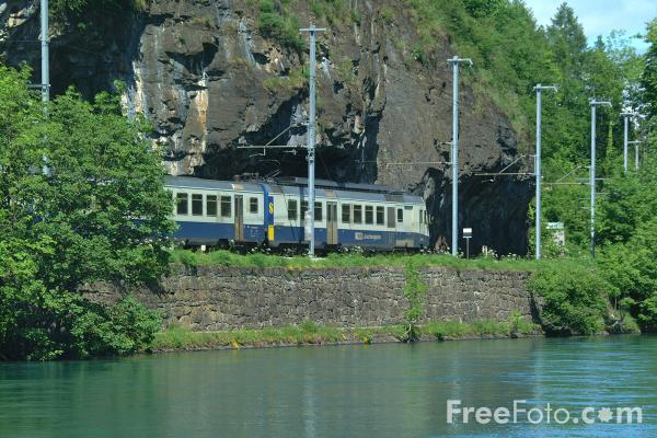 Picture of Bls Lotschbergbahn Railway - Free Pictures - FreeFoto.com
