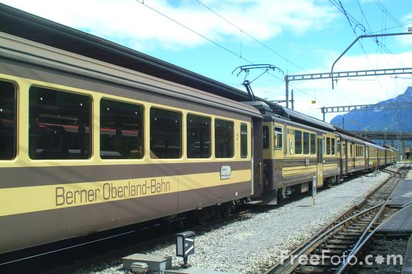 Picture of Bernese Oberland Railway - Free Pictures - FreeFoto.com