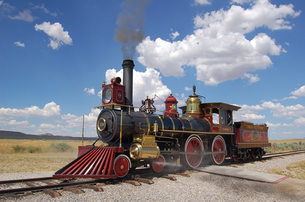 Picture of Golden Spike National Historic Site, Promontory Summit, Utah - Free Pictures - FreeFoto.com