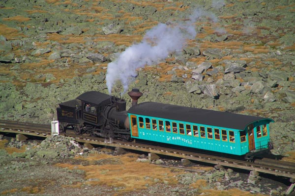 Picture of Mount Washington Cog Railway - Free Pictures - FreeFoto.com