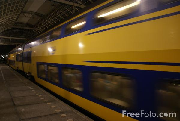 Picture of Dutch railways Nederlandse Spoorwegen NS - Free Pictures - FreeFoto.com