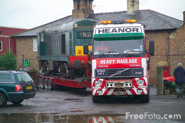 Picture of Class 20 20189 (D8189), Wensleydale Railway - Free Pictures - FreeFoto.com