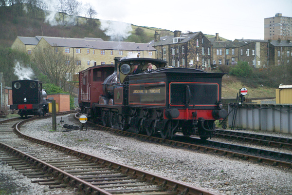 Picture of Lancashire & Yorkshire Railway 52044 - Free Pictures - FreeFoto.com