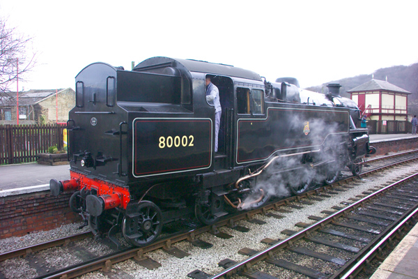 Picture of Keighley and Worth Valley Railway - Free Pictures - FreeFoto.com