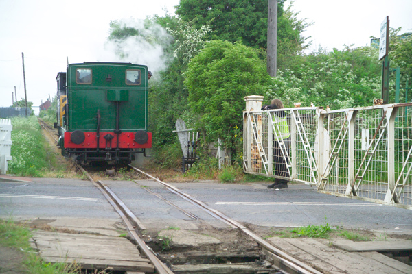 Picture of Saddle Tank Engine 0-4-0 Andrew Barclay No 2361 WST of 1954 at The Bowes Railway - Free Pictures - FreeFoto.com